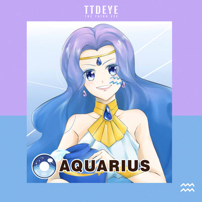 TTDeye Aquarius Colored Contact Lenses