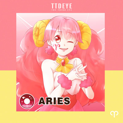 TTDeye Aries Colored Contact Lenses