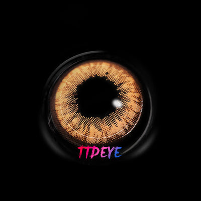 TTDeye Autumn Brown Colored Contact Lenses