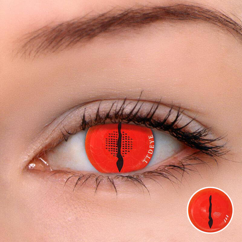 TTDeye Awaken Demon Red Colored Contact Lenses