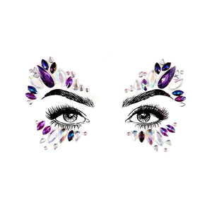 Spinel Rhinestone Crystal Face Jewels