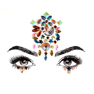 Shine Rhinestone Crystal Face Jewels