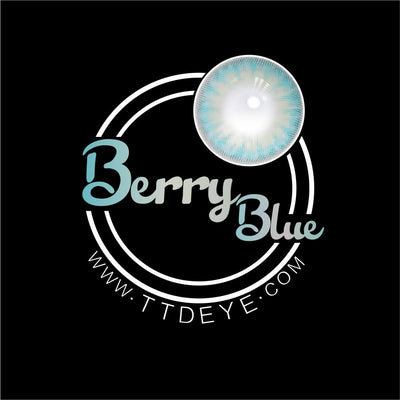 TTDeye Berry Blue Colored Contact Lenses