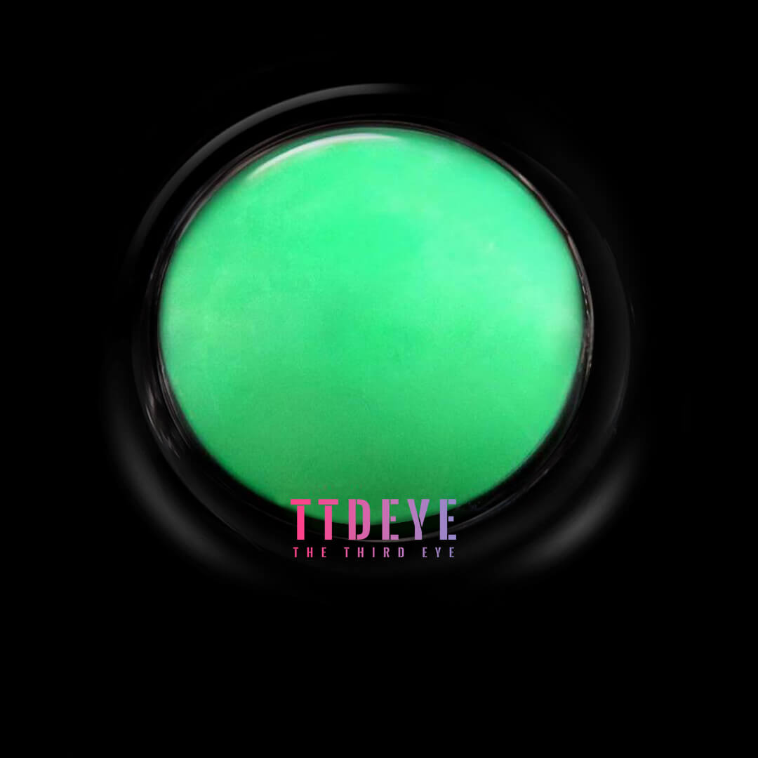 TTDeye Blind Green Colored Contact Lenses