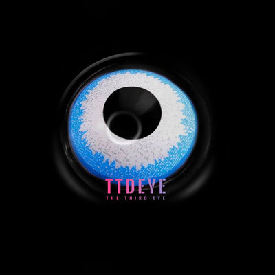 TTDeye Bogy Blue Colored Contact Lenses