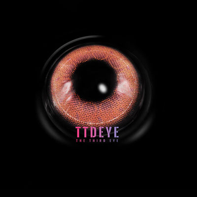 TTDeye Bubble Pink Colored Contact Lenses