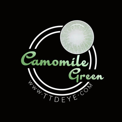 TTDeye Camomile Green Colored Contact Lenses