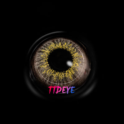 TTDeye Camomile Light Grey Colored Contact Lenses
