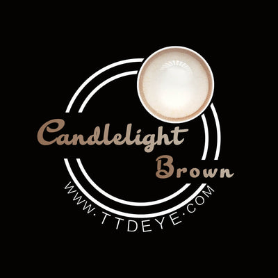 TTDeye Candlelight Brown Colored Contact Lenses