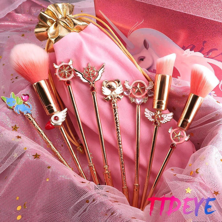 Cardcaptor Sakura Makeup Brushes Set