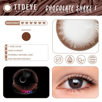 TTDeye Chocolate Shake Colored Contact Lenses