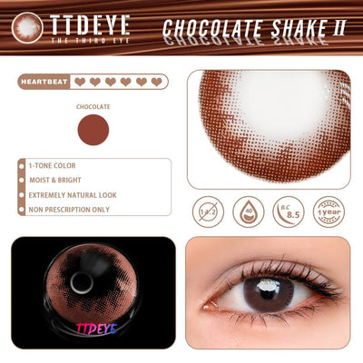 TTDeye Chocolate Shake II Colored Contact Lenses