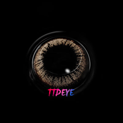 TTDeye Circle Brown Colored Contact Lenses
