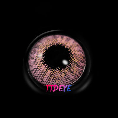TTDeye Clarity Pink Colored Contact Lenses