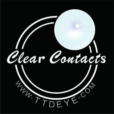 TTDeye Clear Contact Lenses