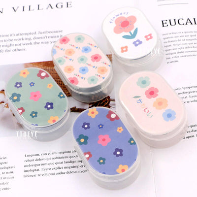 TTDeye Colorful Flowers Lens Case