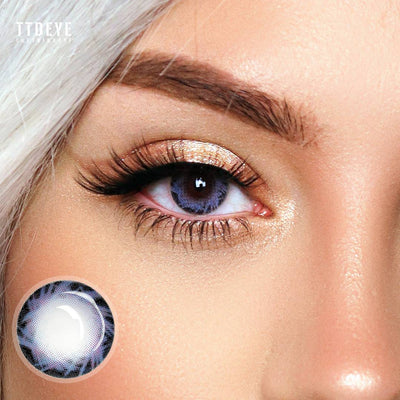 TTDeye Comet Blue Colored Contact Lenses