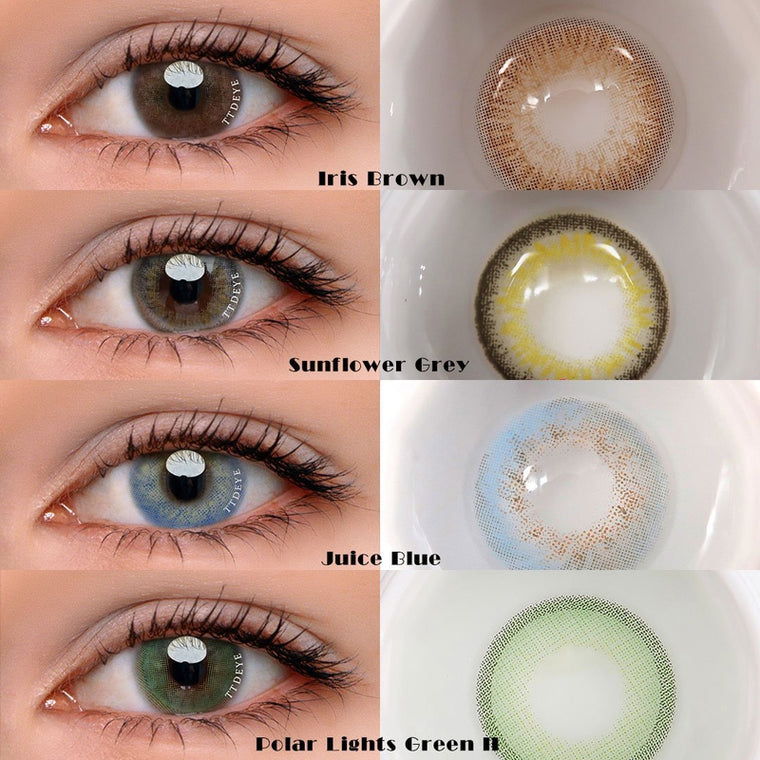 TTDeye Confident Girl Contact Lens Kit