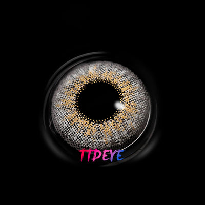 TTDeye Creamy Grey Colored Contact Lenses