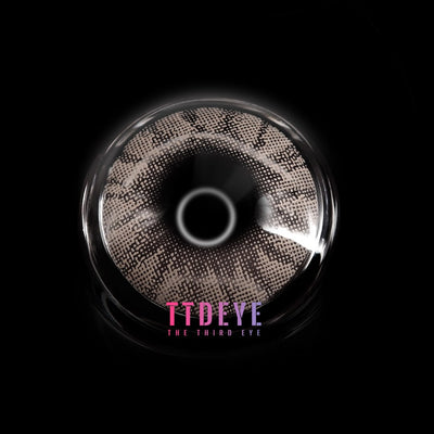 TTDeye Crystal Ball Light Grey II Colored Contact Lenses