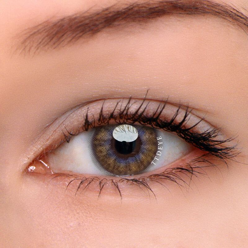 TTDeye Dandelion Brown Colored Contact Lenses
