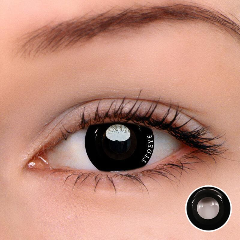 TTDeye Darknight Black Colored Contact Lenses
