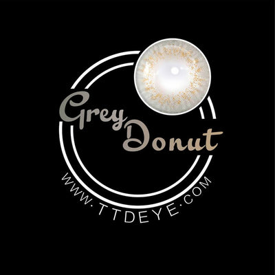TTDeye Donut Grey Colored Contact Lenses
