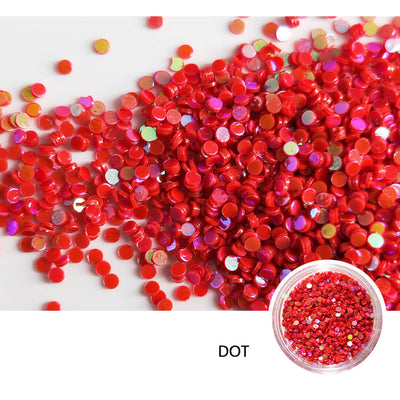 TTDeye Rebellious Red Primary Glitter