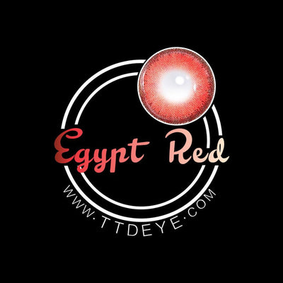 TTDeye Egypt Red Colored Contact Lenses