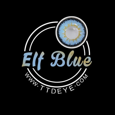 TTDeye Elf Blue Colored Contact Lenses