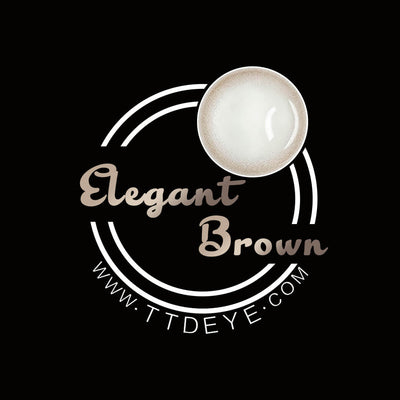 TTDeye Elegant Brown Colored Contact Lenses