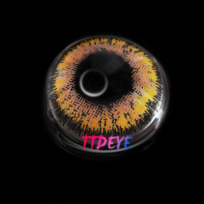 TTDeye Empress Brown Colored Contact Lenses
