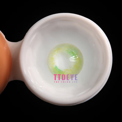 TTDeye Eternity Green Colored Contact Lenses