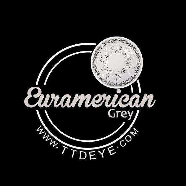 TTDeye Euramerican Grey Colored Contact Lenses