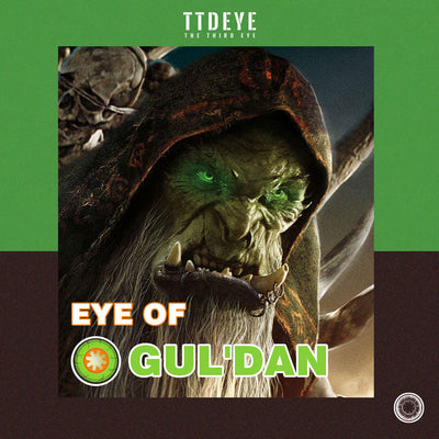 TTDeye Eye of Gul'dan Colored Contact Lenses