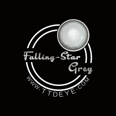 TTDeye Falling Star Grey Colored Contact Lenses