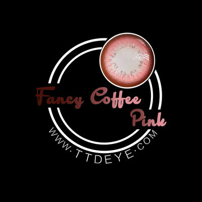 TTDeye Fancy Coffee Pink Colored Contact Lenses