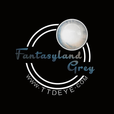 TTDeye Fantasyland Grey Colored Contact Lenses