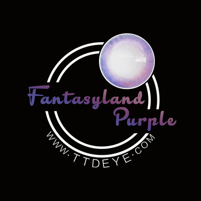 TTDeye Fantasyland Purple Colored Contact Lenses