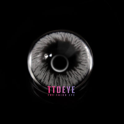 TTDeye Fireworks Grey Colored Contact Lenses