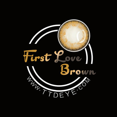 TTDeye First Love Brown Colored Contact Lenses