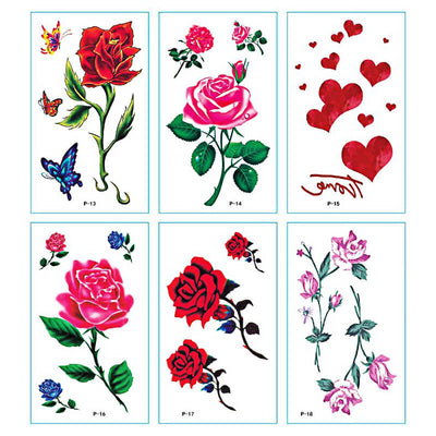 TTDeye Florescence 30 Piece Tattoo Stickers