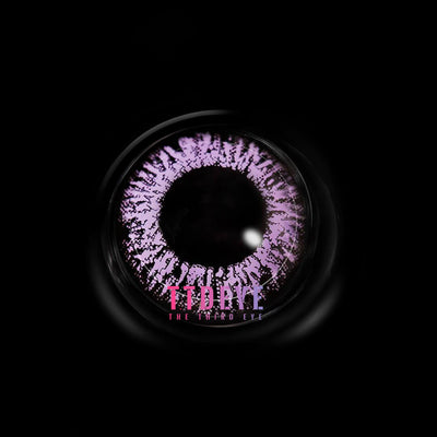 TTDeye Floweriness Purple Colored Contact Lenses