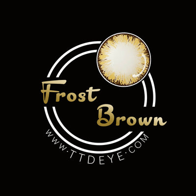 TTDeye Frost Brown  Colored Contact Lenses