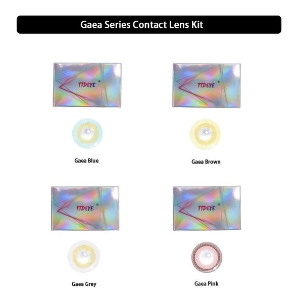 TTDeye Gaea Series Contact Lens Kit