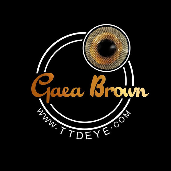 TTDeye Gaea Brown Colored Contact Lenses