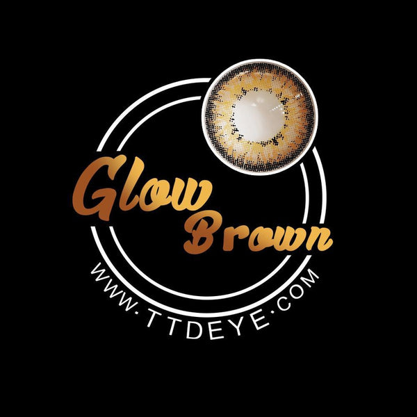 TTDeye Glow Brown Colored Contact Lenses