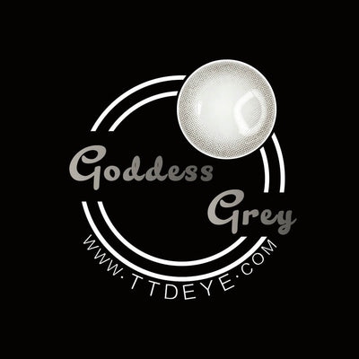 TTDeye Goddess Grey Colored Contact Lenses