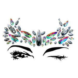 Goddess Rhinestone Crystal Face Jewels