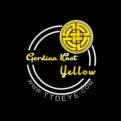 TTDeye Gordian Knot Yellow Colored Contact Lenses